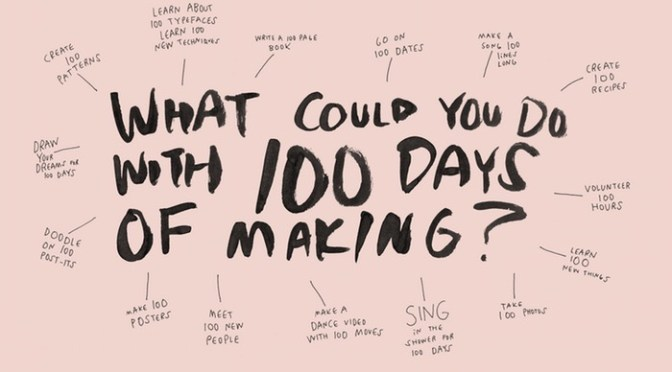 100 Day Project update…
