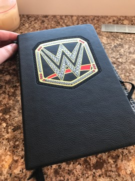 The front of my journal