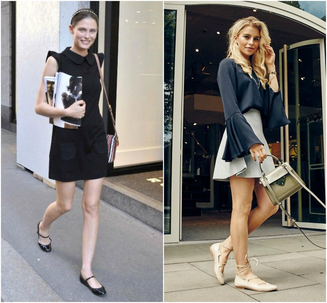 How to Wear Ballet Flats