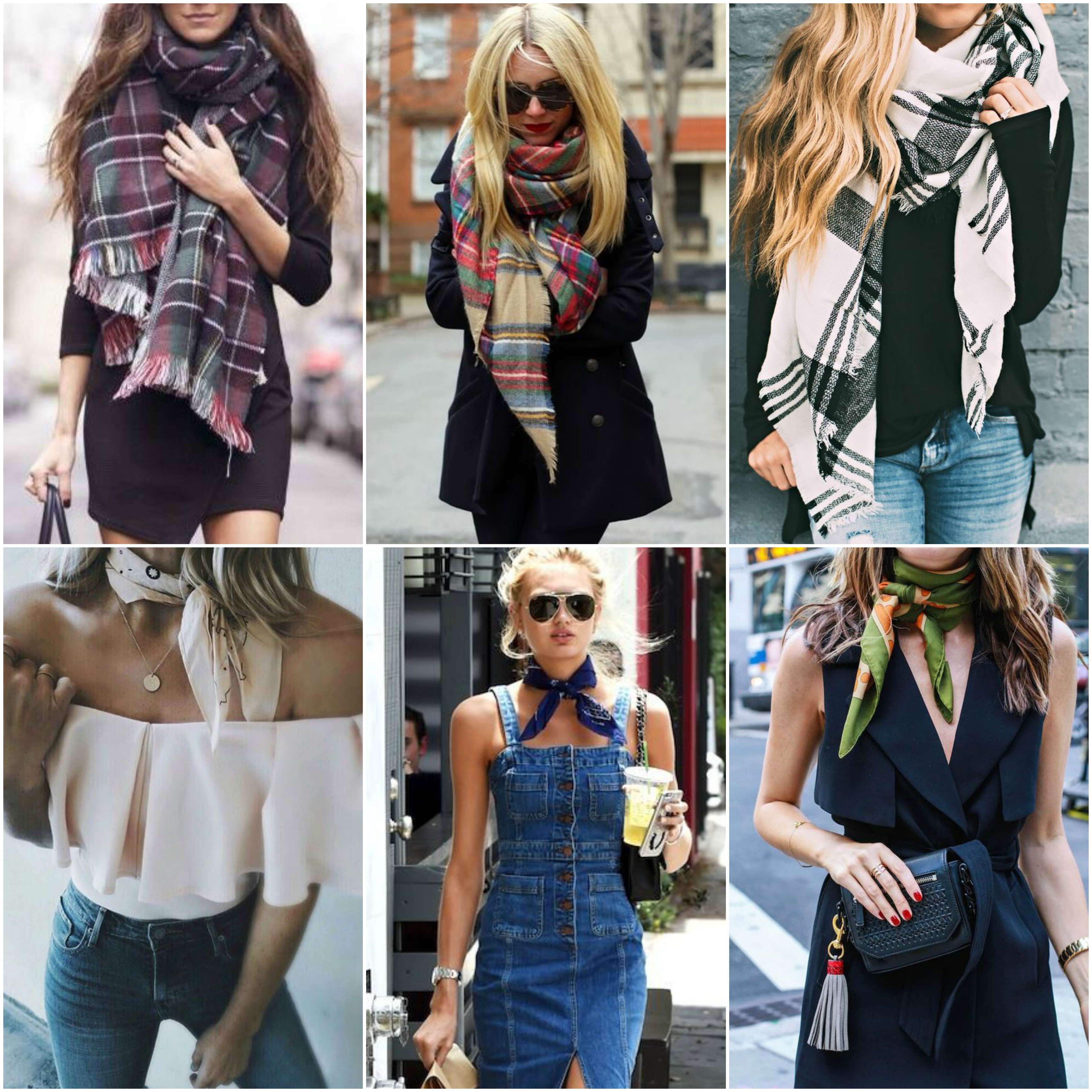 We Show You How to Make and Wear a Scarf Dress