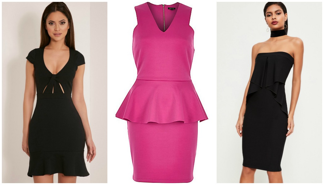 high-street-peplum-dresses