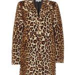 InWear Faux Fur Leopard Print Coat £225.00