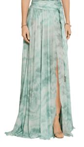 Roberto Cavalli Printed Stretch Jersey Maxi Skirt £406
