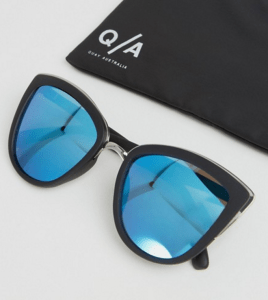 Quay Australia My Girl Mirror Cat Eye Sunglasses £30.00