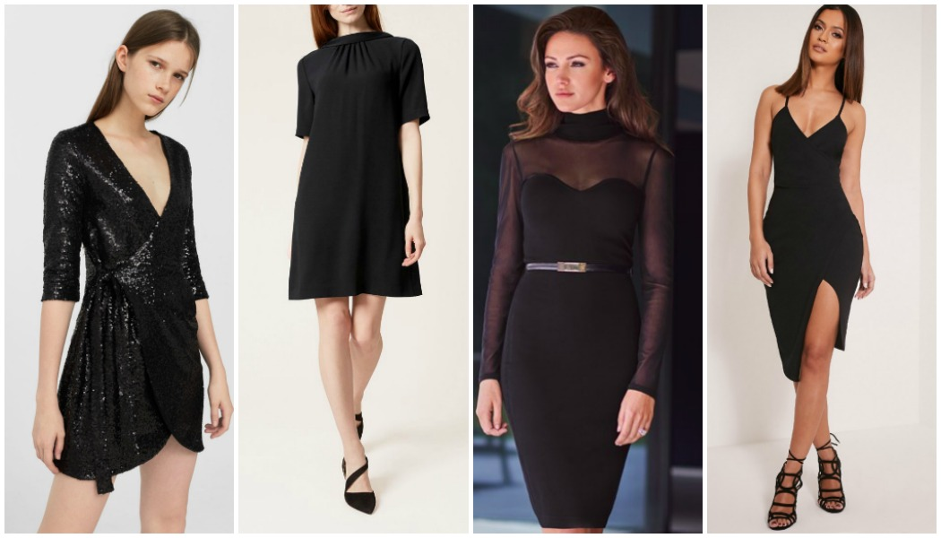 black-dresses to wear for New Year's Eve