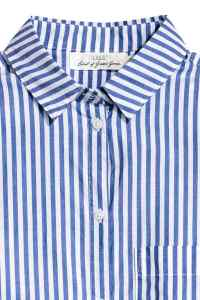 H&M Striped Cotton Shirt £17.99