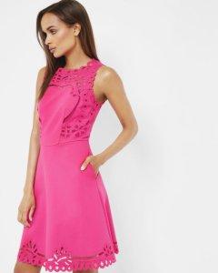 ted-baker-verony-cut-work-skater-dress-pink