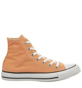 Converse, orange, sneakers