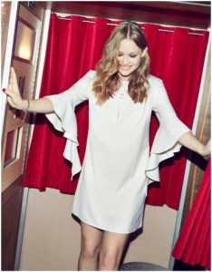 Miss Selfridge Ivory Extreme Sleeve Tunic Dress £20