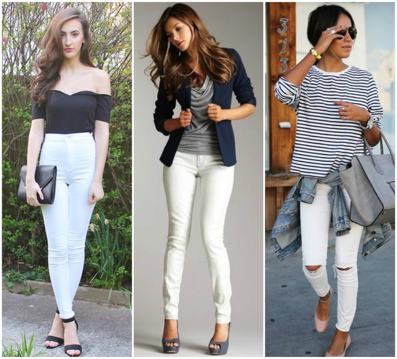 Top to Wear with White Jeans