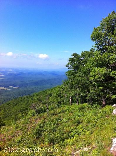 Mountain vista, central Virginia