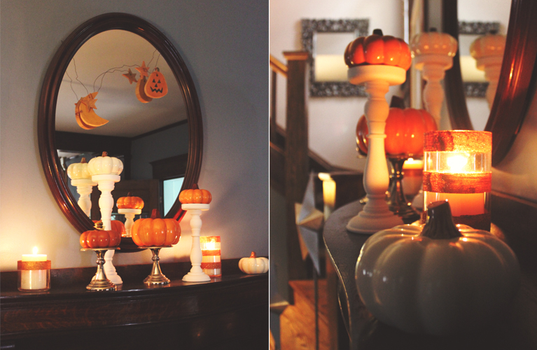 Mum's Mantel - DIY Fall Decor | Alex Inspired