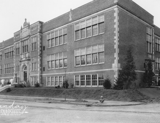 DeLaSalle High School 1923 main building, photo from the Minnesota Historical Society archives | Alex Inspired