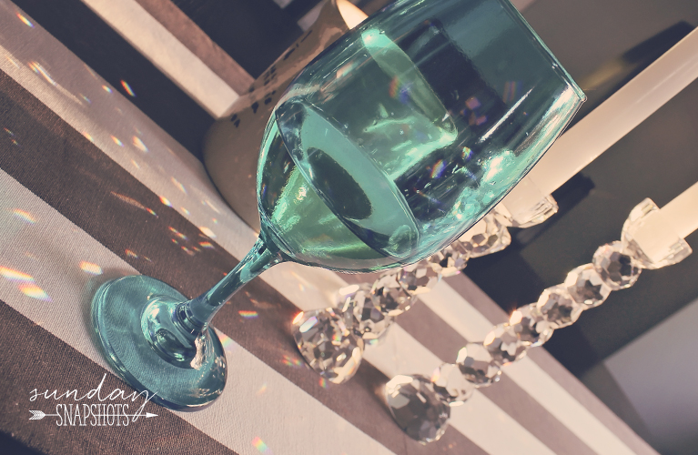 Yummy glass of wine | In the Kitchen - Alex Inspired