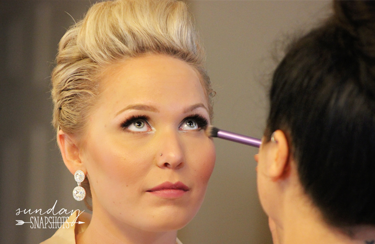 Sunday Snapshots - matrimony morning | Bride and Bridesmaids getting ready in the morning | Alex Inspired