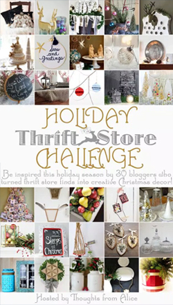 Thoughts from Alice | Holiday Thrift store challenge