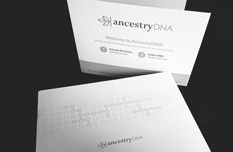 Ancestry DNA Kit - prior to opening it | Alex Inspired