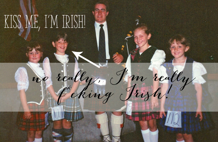 Ancestry DNA had some surprises for me... Guess who's NOT Scottish? this girl! Kiss me, I'm Irish - no really, I'm really F*cking Irish!| Alex Inspired