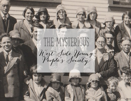 The Mysterious West Side Young People's Society | Alex Inspired