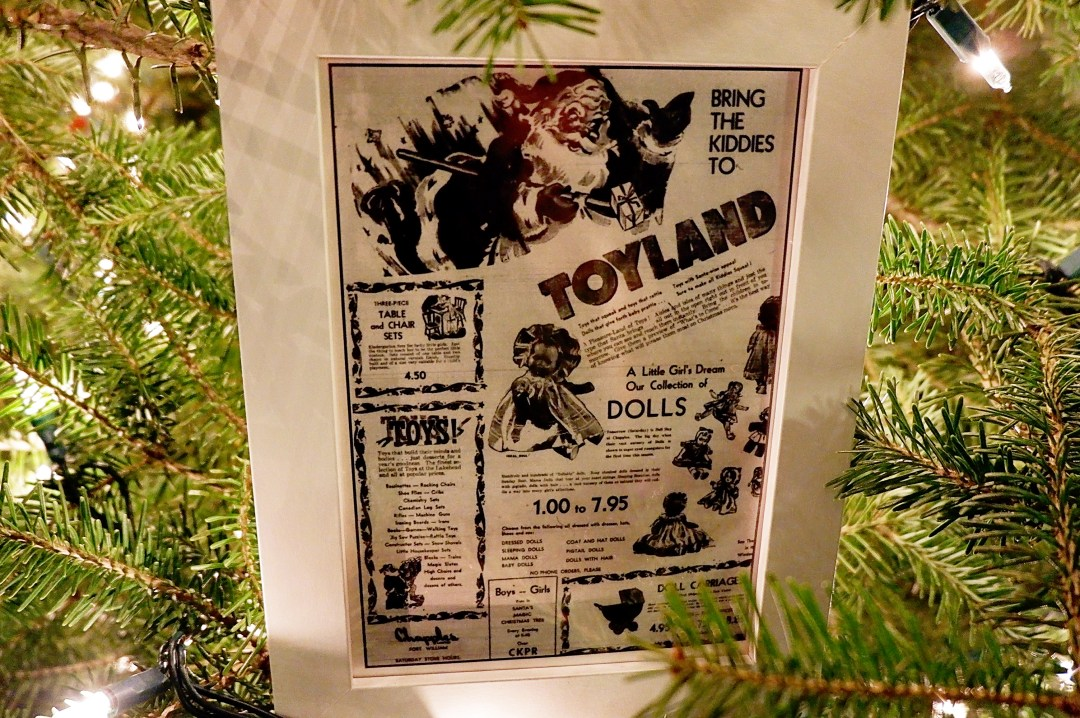 Toyland advertisement from Chapples Department Store   Alex Inspired