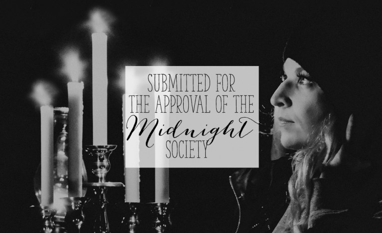 Submitted for the Approval of the Midnight Society | Alex Inspired - picture of Alex with candelabra