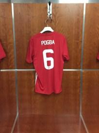 Pogba's place