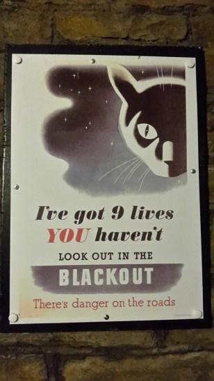 Bomb shelter poster