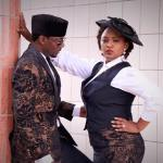 John Njamah & Wife,Angwi Tangi Mark First Wedding Anniversary With Cute Photos