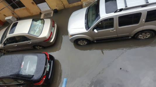 5973288372ce9 - OMG! See What A Street In Surulere Currently Looks Like After The Heavy Downpour Last Night