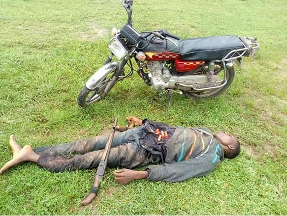 598ecce99a897 - Notorious Delta State Polytechnic cultist & kidnapper, shot dead [Photos]