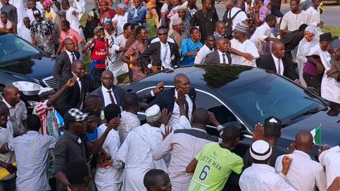 buhari is back
