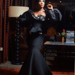 Stephanie Linus Shows Us How To Make A Statement With Black at The 2017 Glitz Styles Awards