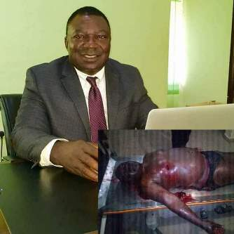 599973b46d397 - Graphic photos: Governor Ortom's aide shot dead, wife fighting for her life in hospital
