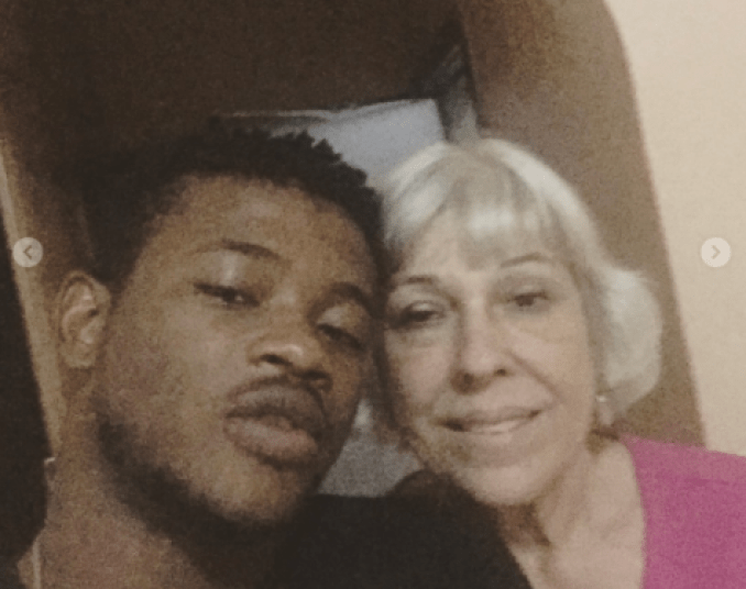 Nigerian Man Who Made Headlines After Marrying Elderly White Woman Shares New Selfies -4192