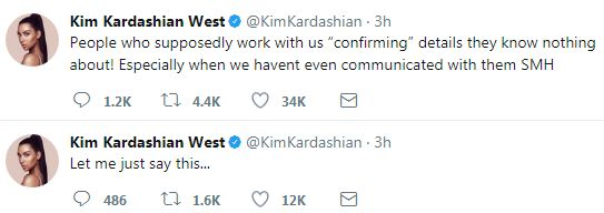 Kim Kardashian claims they didn