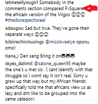 PSquare Break Up News Cause Online War