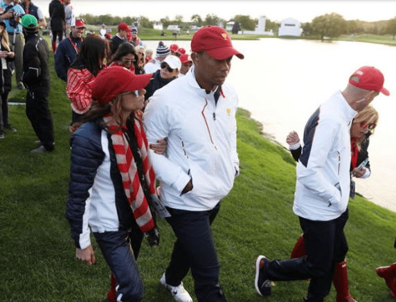 Photos: Tiger Woods finds love again, spotted with the GM of his restaurant,?Erica Herman