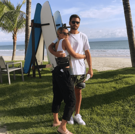 Sofia Richie shares another loved up photo with Scott Disick