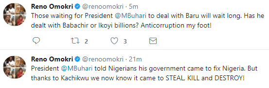 Nigerians react to the face-off between Ibe Kachikwu and NNPC GMD, Maikanti Baru