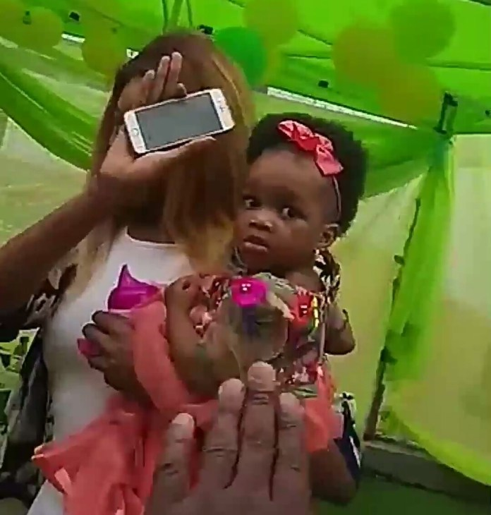 Photos: Dabota Lawson throws a Moana themed 1st birthday party for her daughter, Reignah