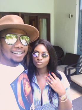 Daughter of former Enugu state governor Sullivan Chime, Ezinne, announces engagement while on vacation in Seychelles