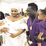 Duncan Mighty And Wife At Their Daughter's Dedication {Photos}