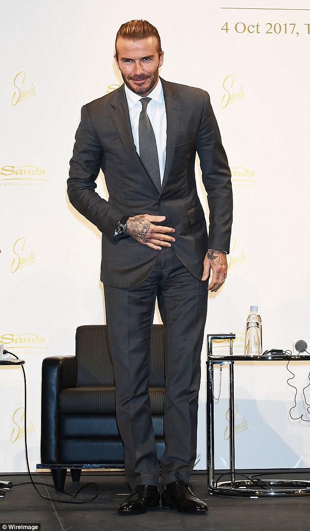 Retired footballer David Beckham earns
