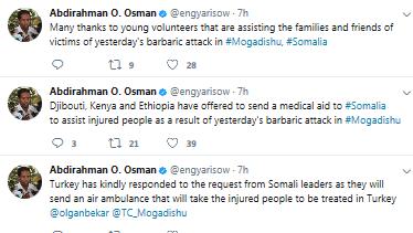 Death toll rises to 276 in Somalia