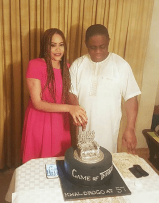 Femi Fani-Kayode celebrates 57th birthday with a Game of Thrones inspired cake