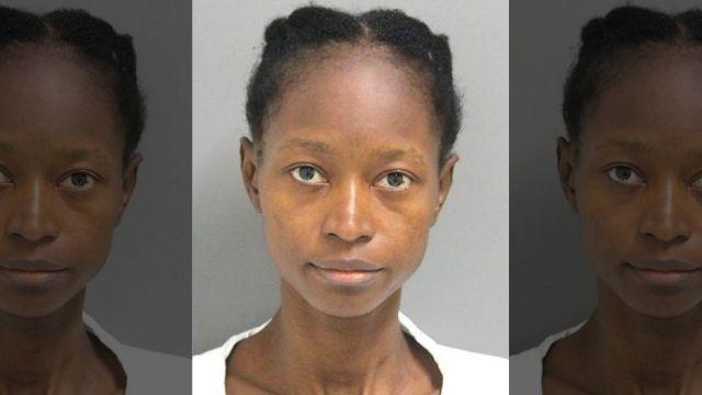 Liberian girlfriend Kula Pelima