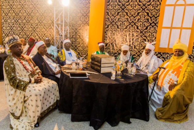 Photos: Olusegun Obasanjo, Alex Ekwueme, attend the book launch ceremony of Rochas Okorocha in Imo State