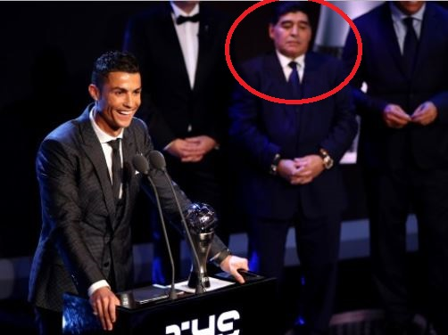 ?Giving FIFA award to Ronaldo and not Messi, hurt my soul
