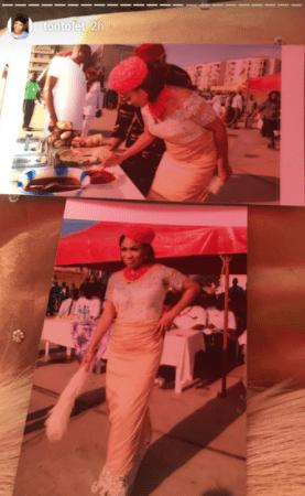 Photos: Actress Tonto Dikeh conferred with