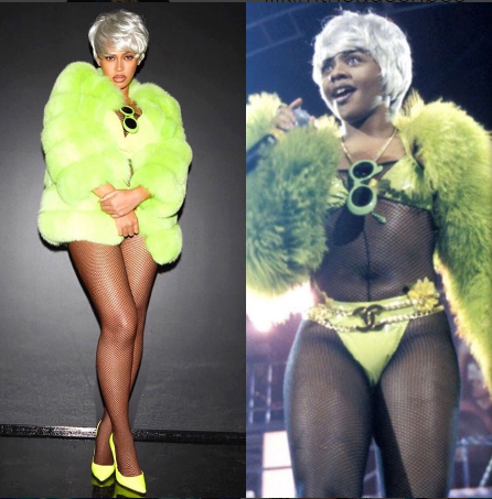 Beyonce tributes 2017 Halloween with 5 Lil Kim inspired costumes (photos)